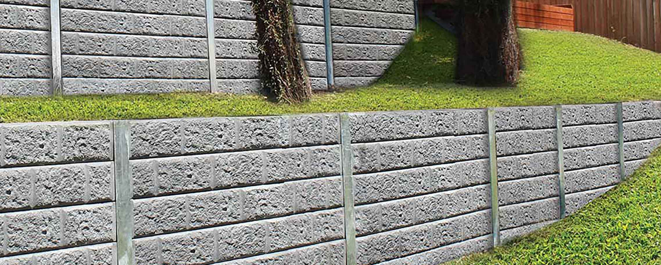 how to build a timber sleeper retaining wall
