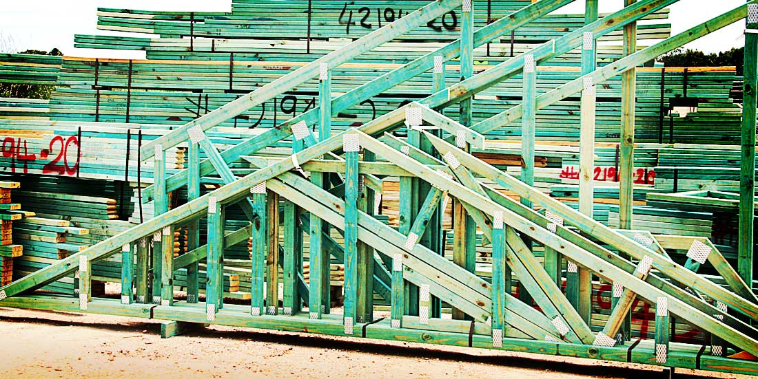 Wall and roof trusses for Prefab trusses prices